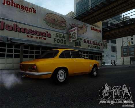 Alfa Romeo Giulia Sprint 1965 for GTA San Andreas right view