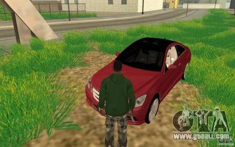CLEO mod: CJ can repair the car for GTA San Andreas second screenshot