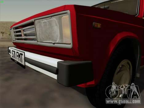 Lada 2105 RIVA (export) 2.0 for GTA San Andreas back view