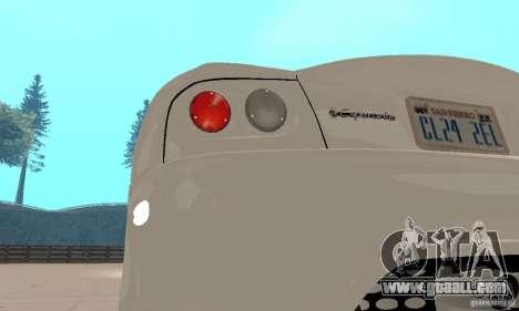 Panoz Esperante GTLM 2005 for GTA San Andreas