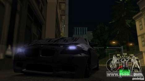 Speedometer of Lada 2110 for GTA San Andreas forth screenshot
