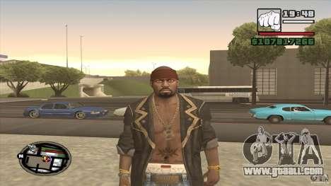 Sam B from Dead Island for GTA San Andreas