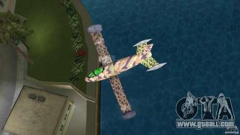 Conceptual Fighter Plane for GTA Vice City right view
