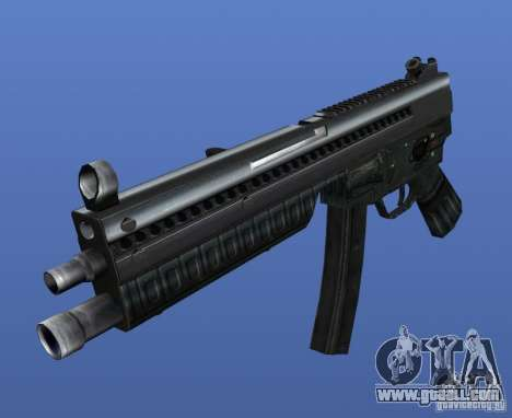 Heckler & Koch MP5 for GTA 4