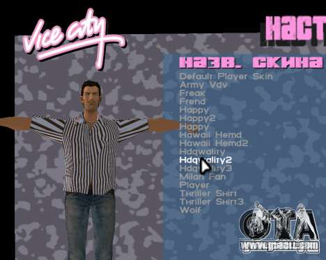 Tommy Skin for GTA Vice City fifth screenshot