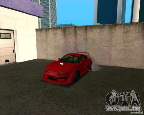 Toyota Supra from MW for GTA San Andreas