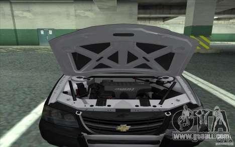 Chevrolet Impala 2003 SFPD for GTA San Andreas right view