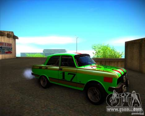 AZLK 2140SL rally for GTA San Andreas