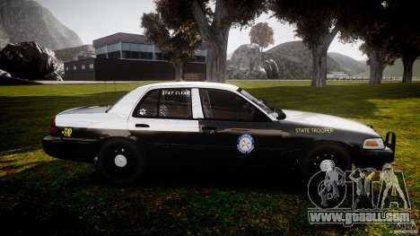 Ford Crown Victoria 2003 CVPI [ELS] for GTA 4 inner view