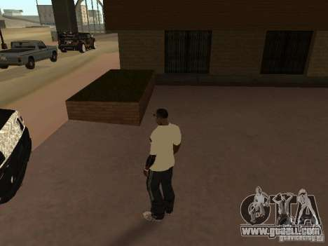 Jersey Adidas for GTA San Andreas second screenshot