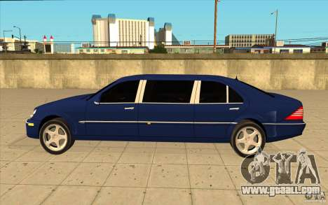 Mercedes-Benz S600 Pullman W220 for GTA San Andreas left view