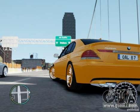 BMW Alpina B7 for GTA 4 left view