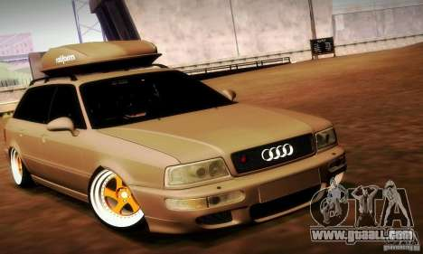 Audi RS2 Avant Thug for GTA San Andreas right view