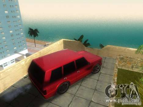 New Huntley for GTA San Andreas back left view