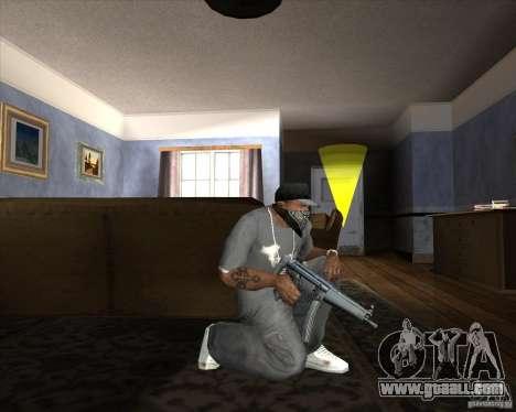 Jarra Mono Arsenal v1.2 for GTA San Andreas