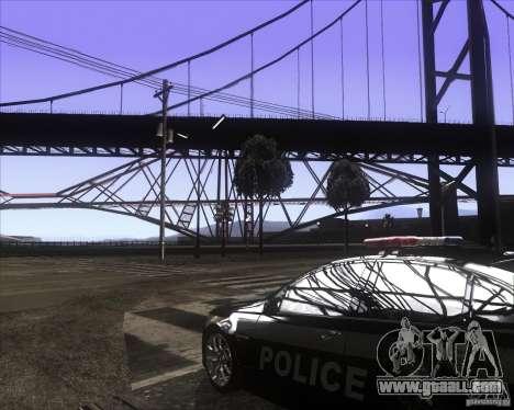 Enbsereis 0.74 Dark for GTA San Andreas second screenshot