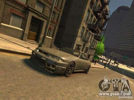 Nissan Skyline GT-R V-Spec (R33) for GTA 4