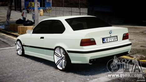 BMW e36 M3 for GTA 4 back left view