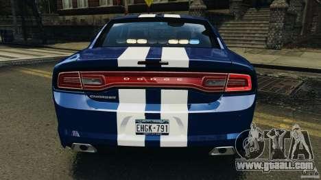 Dodge Charger Unmarked Police 2012 [ELS] for GTA 4 engine