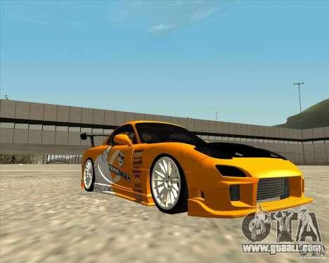 Mazda RX-7 sumopoDRIFT for GTA San Andreas