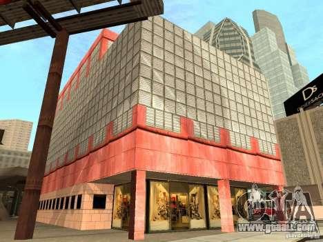 New textures downtown Los Santos for GTA San Andreas ninth screenshot