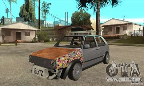 VW Golf Mk2 GTI for GTA San Andreas