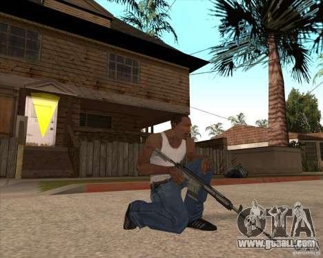 CoD:MW2 weapon pack for GTA San Andreas tenth screenshot