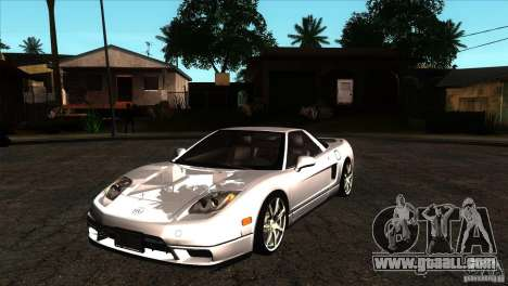 Acura NSX Stock for GTA San Andreas