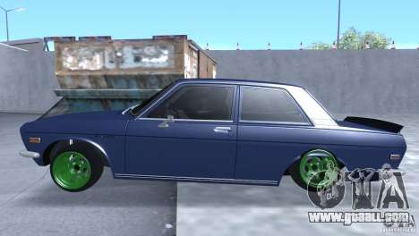 Datsun 510 Drift for GTA San Andreas left view