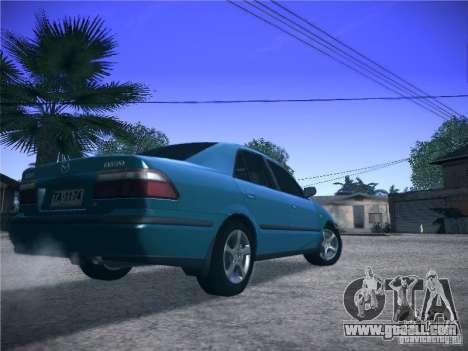 Mazda 626 GF 1999 for GTA San Andreas back view