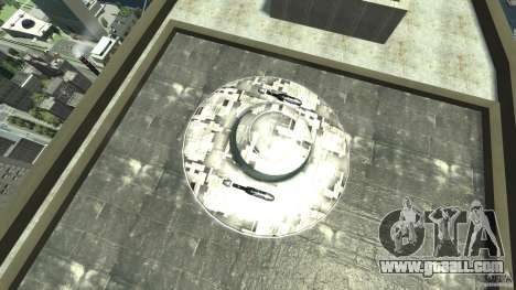 UFO ufo textured for GTA 4 right view
