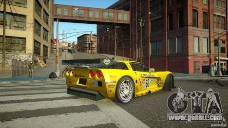 Chevrolet Corvette C6-R v2.0 for GTA 4 back left view