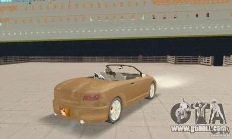 Chrysler Cabrio for GTA San Andreas left view