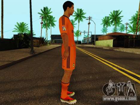 Cristiano Ronaldo v3 for GTA San Andreas second screenshot
