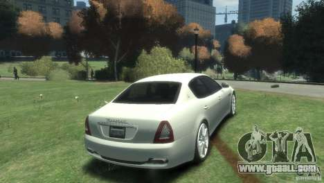Maserati Quattroporte for GTA 4 right view