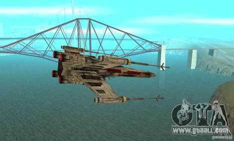 X-WING of Star Wars v1 for GTA San Andreas