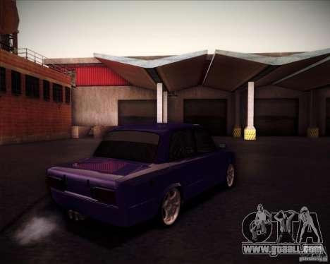 VAZ 2106 drift for GTA San Andreas back view