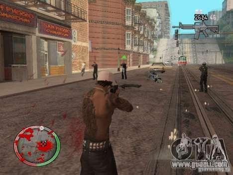 GTA IV HUD v4 by shama123 for GTA San Andreas