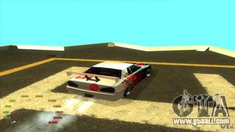 Pack vinyl for Elegy for GTA San Andreas sixth screenshot
