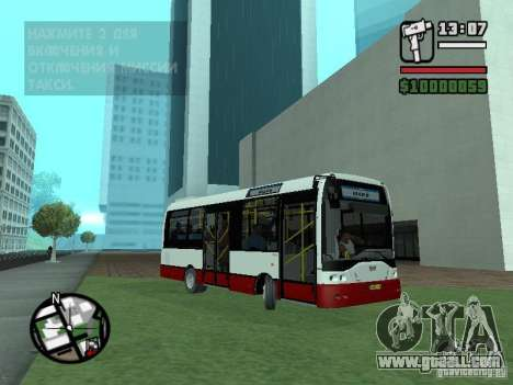 Ikarus E91 for GTA San Andreas left view