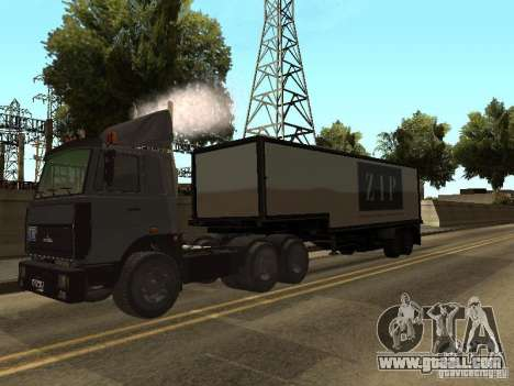 5336 MAZ truck for GTA San Andreas right view