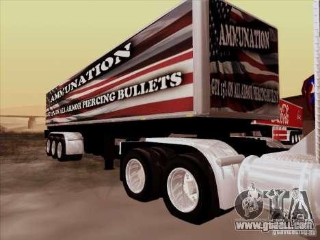 Trailer, Peterbilt 377 for GTA San Andreas