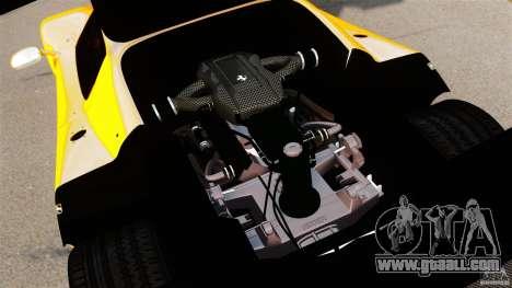 Ferrari F50 GT 1996 for GTA 4 inner view