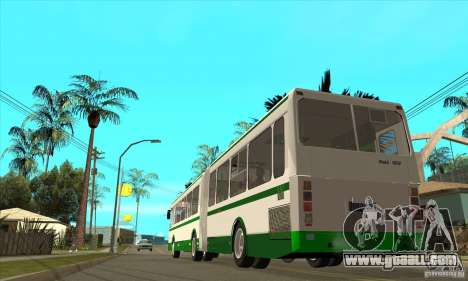 LIAZ 6212 for GTA San Andreas back left view
