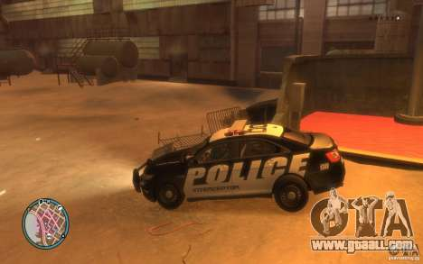 Ford Taurus Police for GTA 4 right view