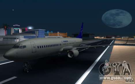 Sukhoi SuperJet-100 for GTA San Andreas