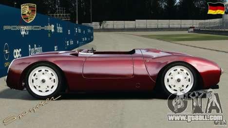 Porsche 550 A Spyder 1956 v1.0 for GTA 4 left view
