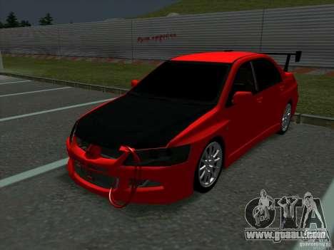 Mitsubishi Lancer Drift for GTA San Andreas