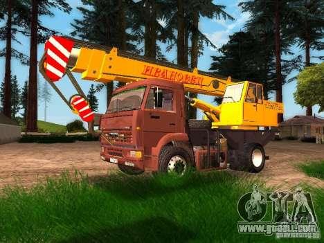 KAMAZ 6520 KS3577-3 k Ivanovets for GTA San Andreas