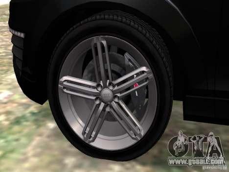 Audi Q7 V12 TDI Quattro Final for GTA 4 bottom view